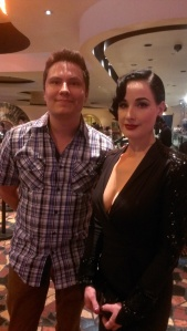 Wes Hurley and Dita Von Teese